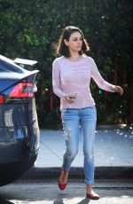 MILA KUNIS Out and About in Los Angeles 09/20/2017