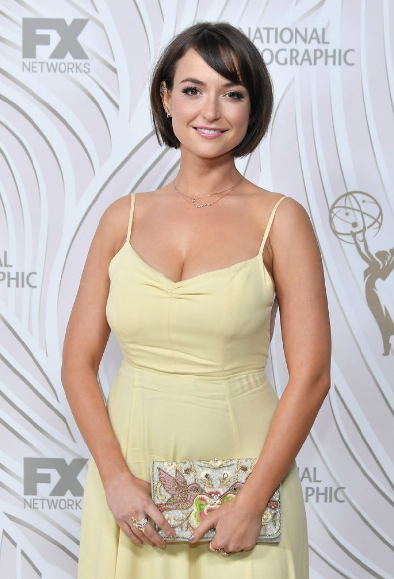MILANA VAYNTRUB at Fox & Nat Geo 69th Emmy Awards Party in Los Angeles 09/17/2017