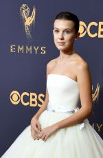 MILLIE BOBBY BROWN at 69th Annual Primetime EMMY Awards in Los Angeles 09/17/2017