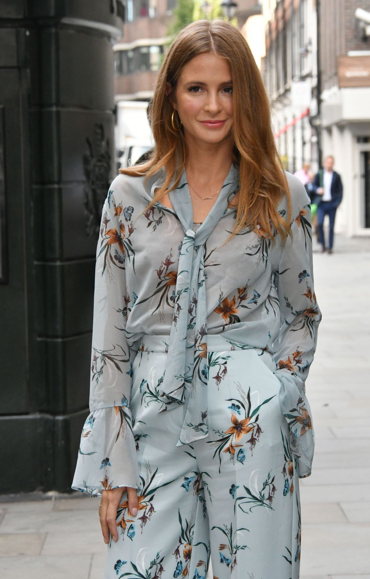 MILLIE MACKINTOSH Out in London 09/12/2017