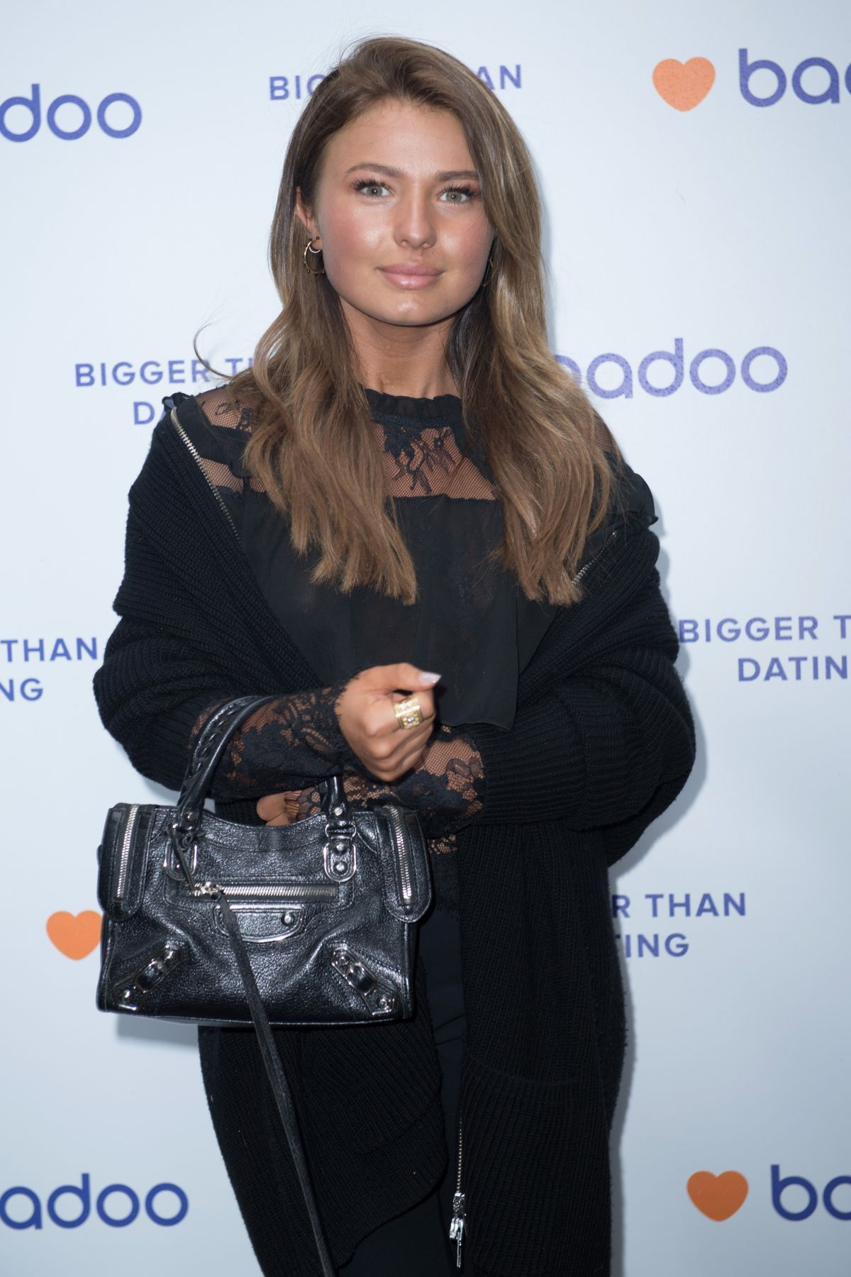 MIMI BOUCHARD at Badooyouremember VIP Event in London 09/03/2017