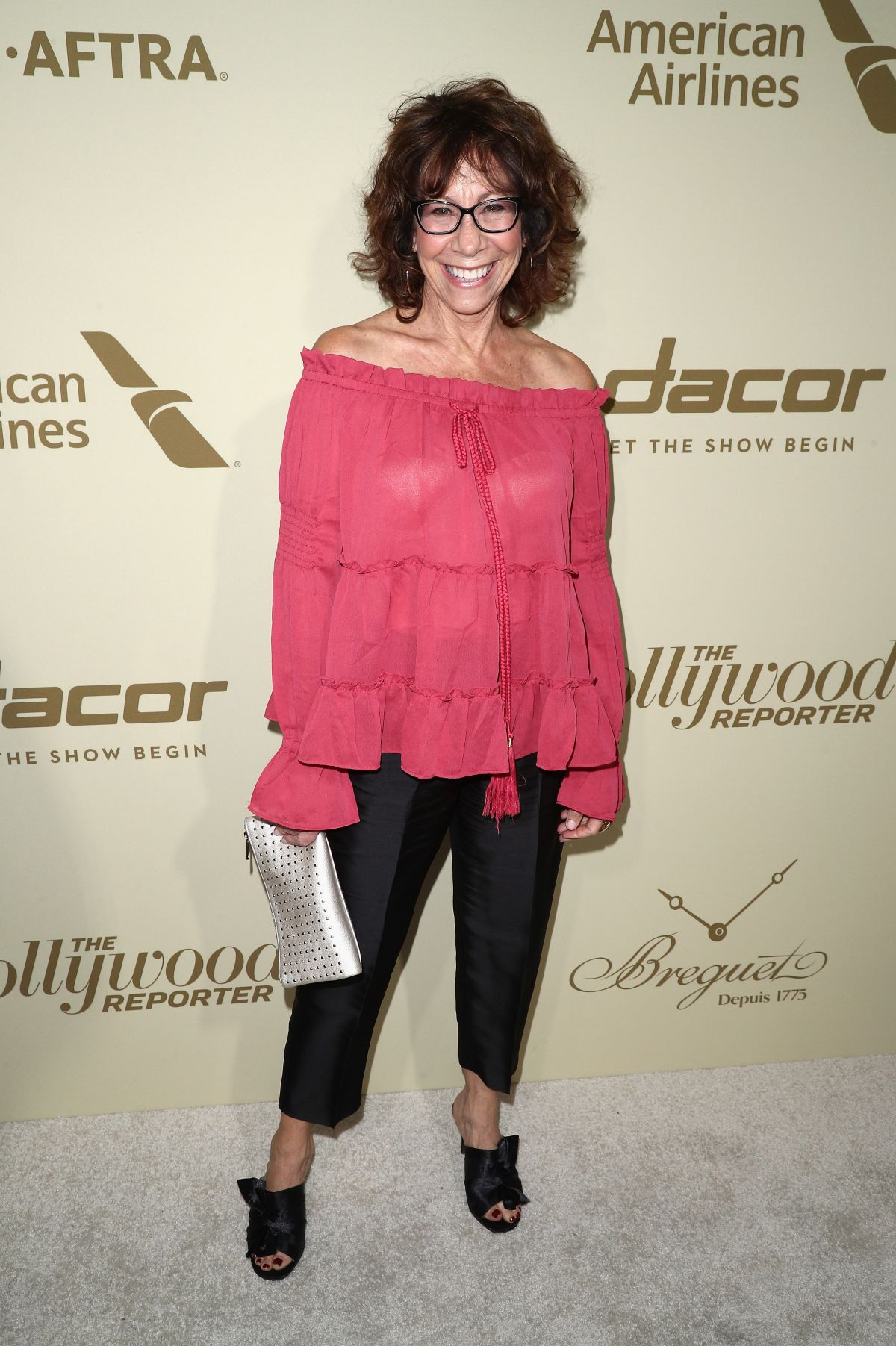 MINDY STERLING at Hollywood Reporter and Sag-aftra Nominees Night in Beverly Hills 09/14/2017