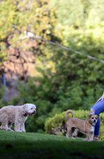 MINKA KELLY at Dog Park in West Hollywood 09/27/2017