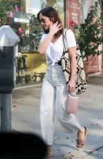 MINKA KELLY Out and About in Los Angeles 09/18/2017