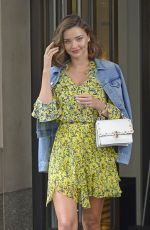 MIRANDA KERR Out and About in New York 09/15/2017