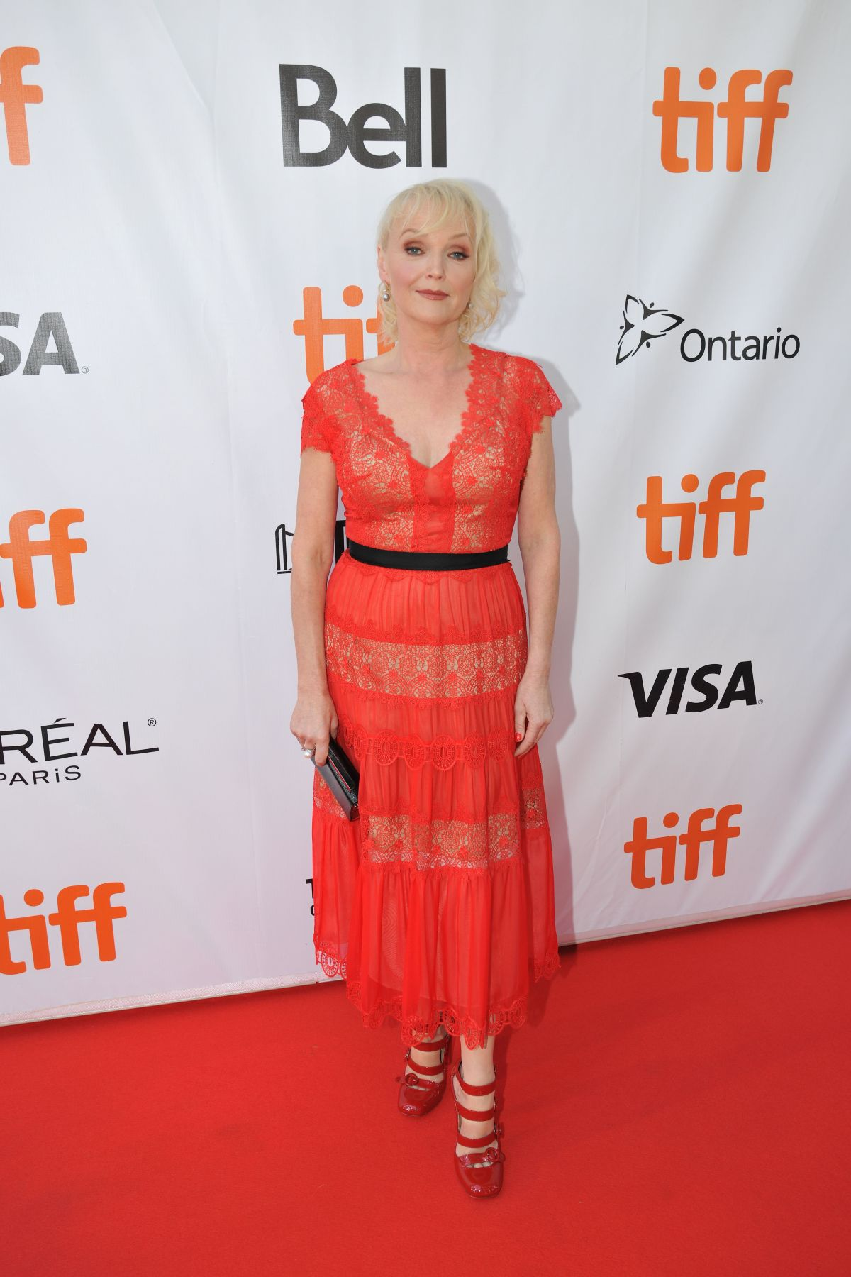 MIRANDA RICHARDSON at Stronger Premiere at 2017 TIFF in Toronto 09/08/2017