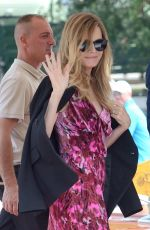 MICHELLE PFEIFFER Arrives at Excelsior Hotel in Venice 09/05/2017