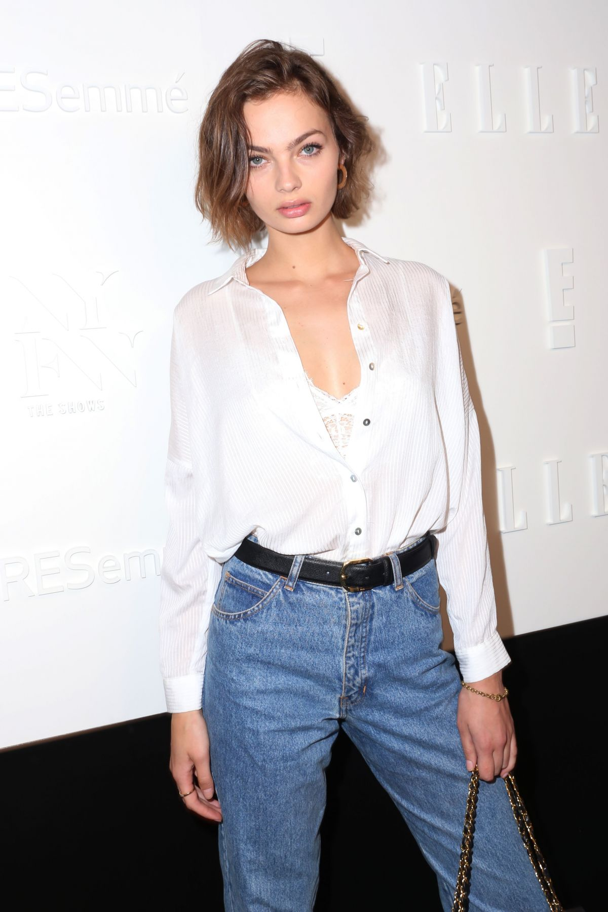 MOA ABERG at E!, Elle & Img Host New York Fashion Week Kickoff Party 09/06/2017