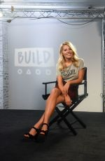 MOLLIE KING at AOL Build in London 09/07/2017