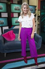 MOLLIE KING at Trending Live on 4music in London 09/06/2017