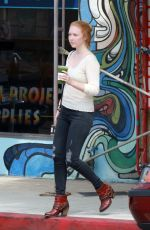 MOLLY QUINN Out and About in Studio City 13/09/2017