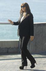 MONICA BELLUCCI Arrives at Donostia Award at Aquarium in San Sebastian 09/27/2017