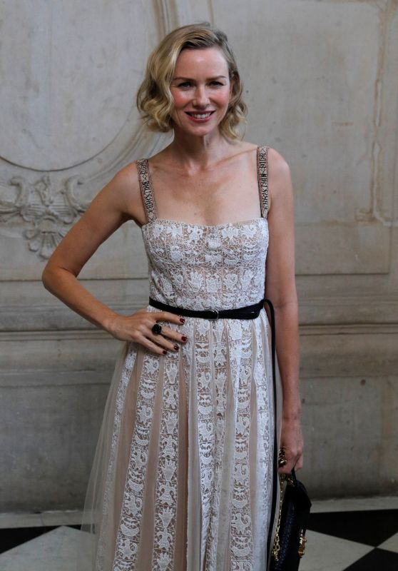 NAOMI WATTS at Christian Dior Fashion Show at Paris Fashion Week 09/26/2017
