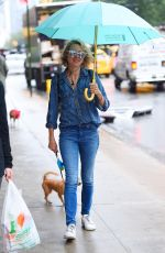 NAOMI WATTS Out with Her Dogs in New York 09/19/2017