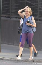 NAOMIE WATTS Leaves Yoga Class in New York 09/17/2017