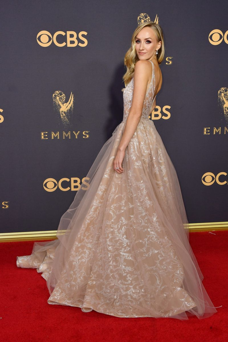 NASTIA LIUKIN at 69th Annual Primetime EMMY Awards in Los Angeles 09/17/2017