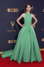 NATALIA DYER at 69th Annual Primetime EMMY Awards in Los Angeles 09/17/2017
