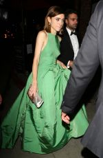 NATALIA DYER Leaves Stephen Colbert Party in West Hollywood 09/18/2017