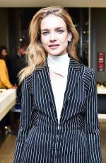 NATALIA VODIANOVA at Betak Fashion Revolution Launch in Paris 09/27/2017
