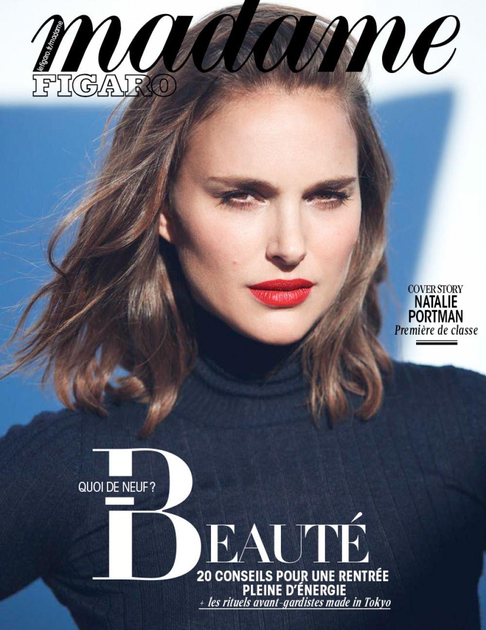NATALIE PORTMAN for Madame Figaro, September 2017