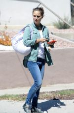 NATALIE PORTMAN Out and About in Silver Lake 09/27/2017