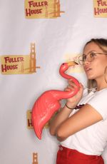 NATASHA and CANDACE CAMERON BURE at Fuller House Season 3 Wrap Party Photo Booth, September 2017
