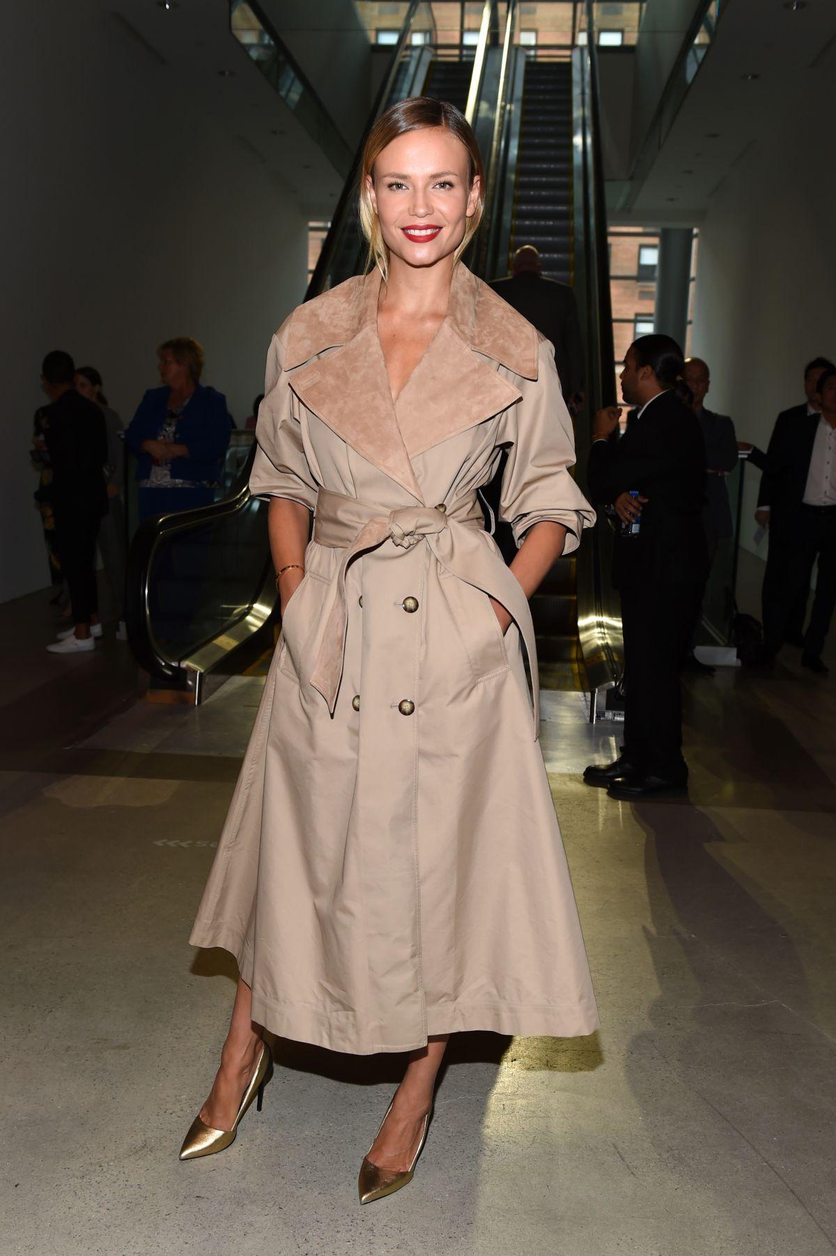 NATASHA POLY at Oscar De La Renta Fashion Show at NYFW in New York 09/11/2017