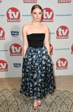 NELL HUDSON at TV Choice Awards in London 09/04/2017