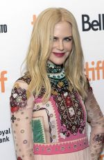 NICOLE KIDMAN at The Klling of a Sacred Deer Premiere at 2017 TIFF 09/09/2017