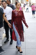 NICOLE RICHIE at Today Show in New York 09/27/2017