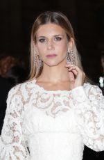 NICOLETTA ROMANOFF at Green Carpet Fashion Awards in Milan 09/24/2017
