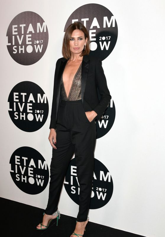 NIEVES ALVAREZ at Etam Fashion Show at Paris Fashion Week 09/26/2017
