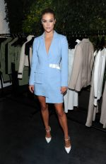 NINA AGDAL at Whyte Studio NYFW Launch Dinner in New York 09/13/2017