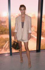 NINA AGDAL at Zimmermann Fashion Show at New York Fashion Week 09/11/2017