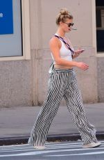 NINA AGDAL Out for Lunch in New York 09/24/2017