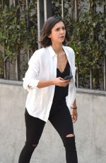 NINA DOBREV Out and About in West Hollywood 09/06/2017