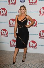 OLIVIA BUCKLAND at TV Choice Awards in London 09/04/2017