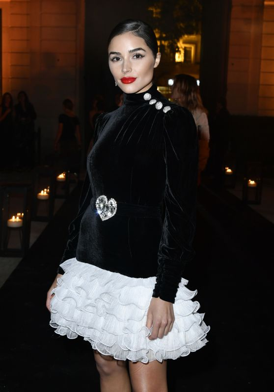 OLIVIA CULPO at Messika Cocktail in Paris 09/27/2017