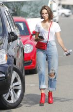OLIVIA CULPO in Ripped Jeans Out in Beverly Hills 09/19/2017
