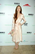 OLIVIA GRANT at Manolo: The Boy Who Made Shoes for Lizards Premiere in New York 09/14/2017