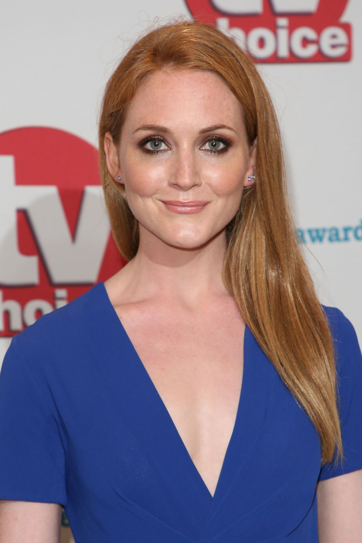 OLIVIA HALLINAN at TV Choice Awards in London 09/04/2017