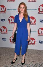 OLIVIA HALLINAN at TV Choice Awards in London 09/04/2017