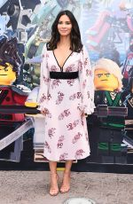 OLIVIA MUNN at Lego Ninjago Photocall at Legoland in Carlsbad 09/14/2017
