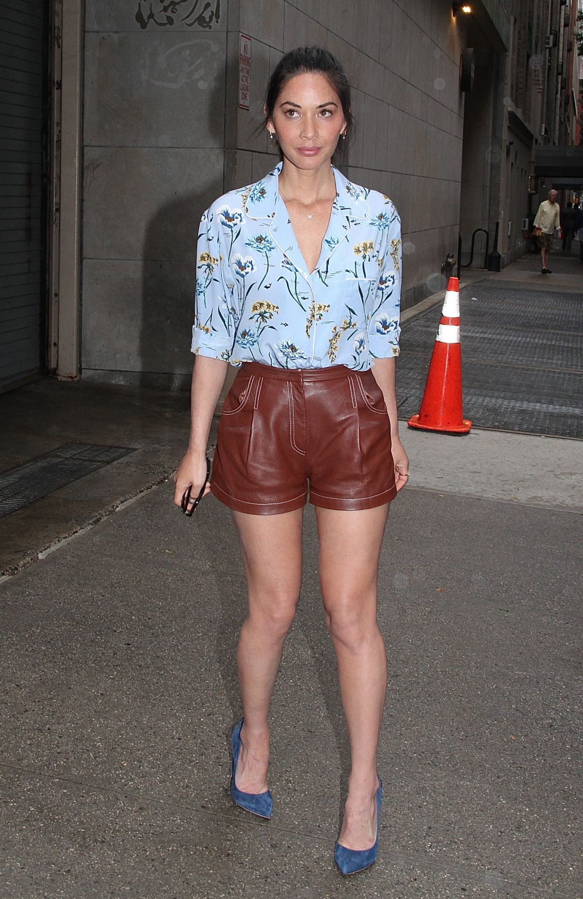 OLIVIA MUNN at The Chew in New York 09/18/2017