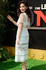 OLIVIA MUNN at The Lego Ninjago Premiere in Los Angeles 09/16/2017
