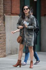 OLIVIA MUNN Out and About in New York 09/03/2017