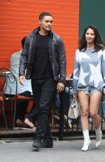 OLIVIA MUNN Out for Lunch in West Village in New York 09/02/2017