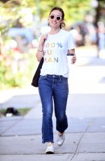 OLIVIA WILDE Out in New York 08/30/2017