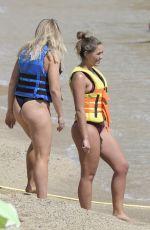 OLYMPIA VALANCE in Bikini at a Beach in Greece 09/22/2017