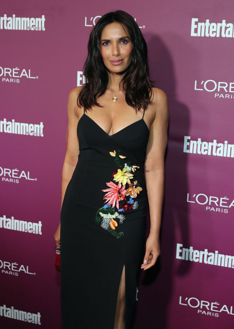 PADMA LAKSHMI at 2017 Entertainment Weekly Pre-emmy Party in West Hollywood 09/15/2017